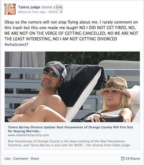 Tamra Barney Fired Update: Real Housewives Of Orange County Divorce News on Eddie Judge