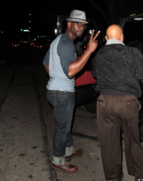 Taye Diggs Takes 3 Older Women Home For Sex: Idina Menzel Says No Reconcilliation