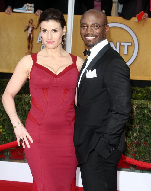 Taye Diggs Takes 3 Older Females Home For Sex: Idina Menzel Says No Reconcilliation