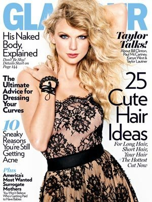Taylor Swift Speak Now Photoshoot. Taylor Swift graces the cover