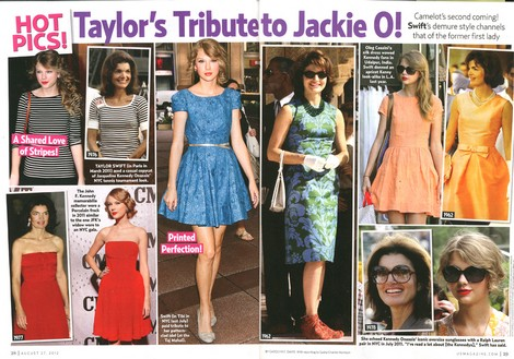 Taylor Swift Is Delusional: The 'Singer' Believes She's Jackie Kennedy