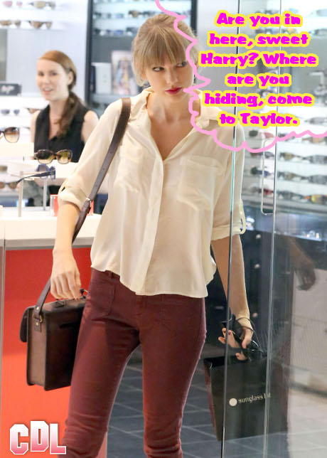 Taylor Swift Sinks Her Teeth Into Harry Styles: Already Planning their Wedding!