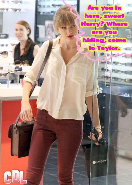 Taylor Swift Sinks Her Teeth Into Harry Styles: Already Planning their Wedding!