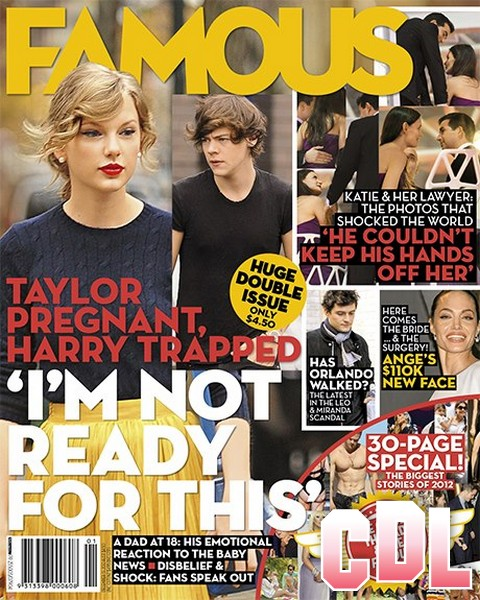 Taylor Swift Pregnant and Harry Styles Trapped