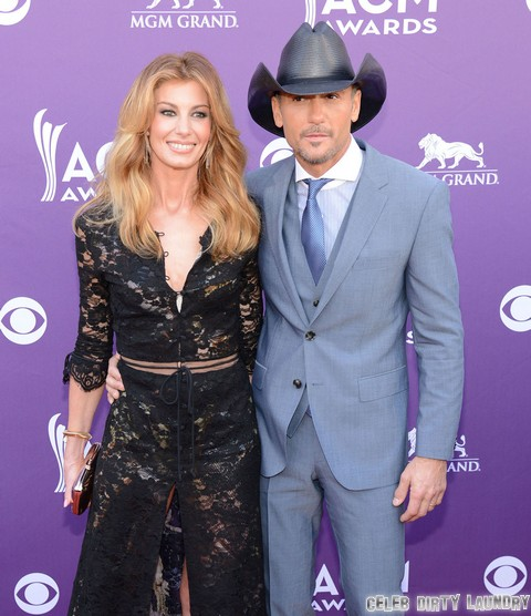 """Faith Hill Warns Taylor Swift To Stay Away From Tim McGraw - """"Major Sexual Chemistry"""""""
