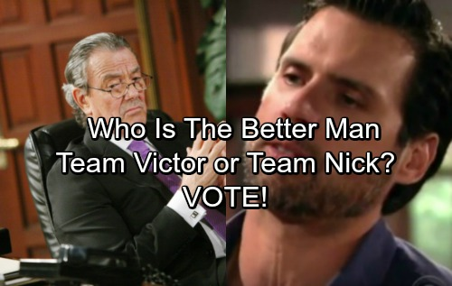 The Young and the Restless Spoilers: Team Victor or Team Nick – Who Is The Better Man?