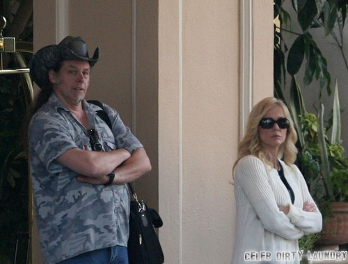 Ted Nugent's Wife Shemane Deziel Arrested For Carrying Gun at Dallas Airport Terminal