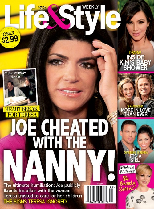 Joe Giudice Cheats On Teresa With Their Nanny!