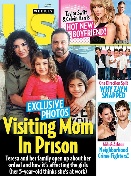 Teresa Giudice and Joe Giudice Interview: Visiting Mom in Prison - Joe Cries Like a Little Baby!