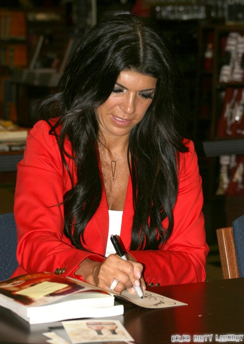 Teresa Giudice Alleged Tax Avoidance Cash Grab At Posche Spring Fashion Show - Is She Nuts?