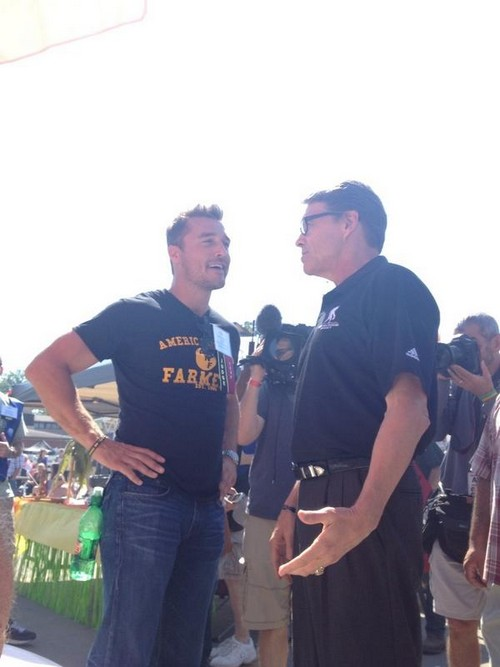Chris Soules The Bachelor 2015 Season 19: Soules Rejected by Bachelorette Andi Dorfman - Meets Politicians in Iowa