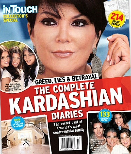 Robert Kardashian's Complete Diaries Revealed! (Photo)