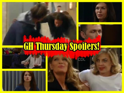 'General Hospital' Spoilers: Griffin and Liz Bond After GH Brawl - Jealous Franco Goes To Heather For Advice