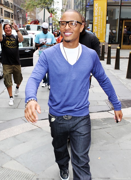 TI Can't Decide What to Wear Today