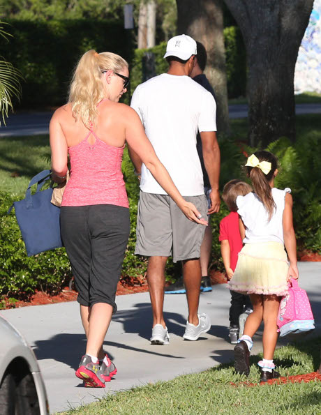 Tiger Woods Kicks Lindsey Vonn to Curb After She Explodes on His Kids!