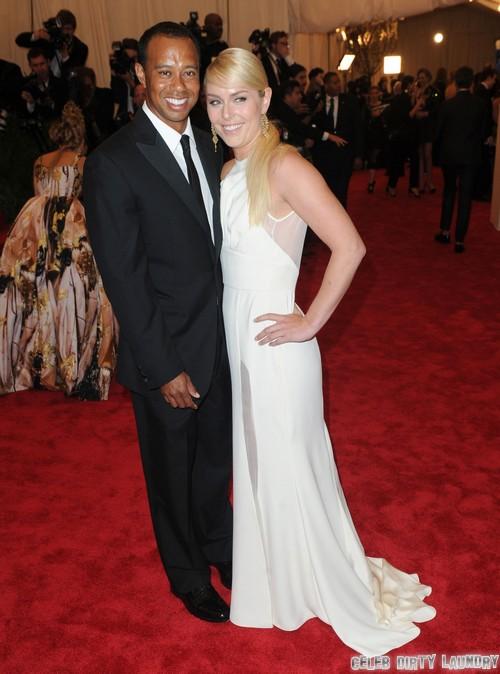 Lindsey Vonn Calls Herself Tiger Woods' Wife – Elin Nordegren Says No Way!