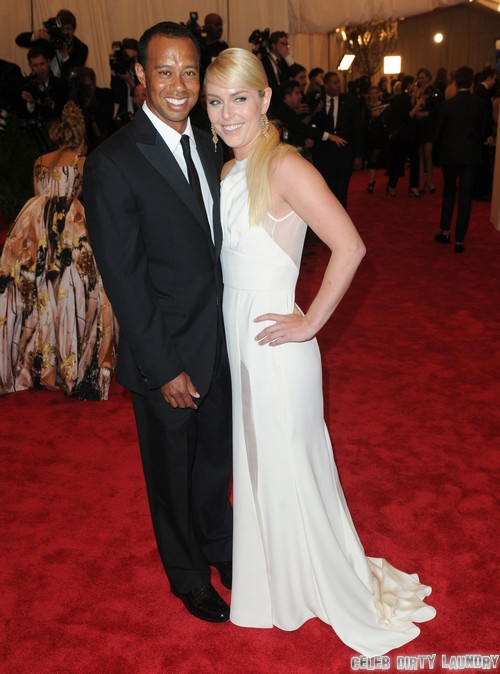 Lindsey Vonn Calls Herself Tiger Woods' Wife – Elin Nordegren Says No Way!