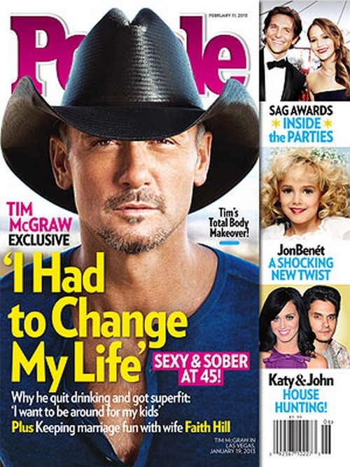Tim McGraw Sexy and Sober At 45: How He Changed His Life (Photo)