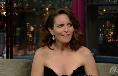 Tina Fey Mocks Sarah Palin On David Letterman