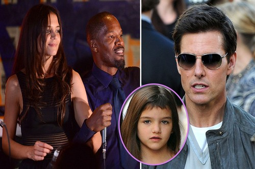 Tom Cruise Uses Suri To Retaliate Against Katie Holmes and Jamie Foxx For Their Hot Hookup