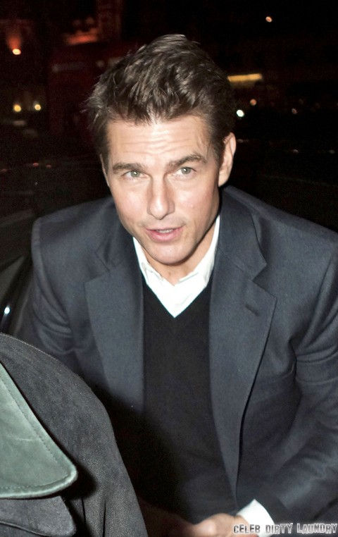 Tom Cruise Going Bald – Losing His Hair In Midlife Crisis