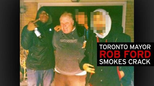 Rob Ford Mayor Of Toronto Smoking Crack Cocaine – Video For Sale