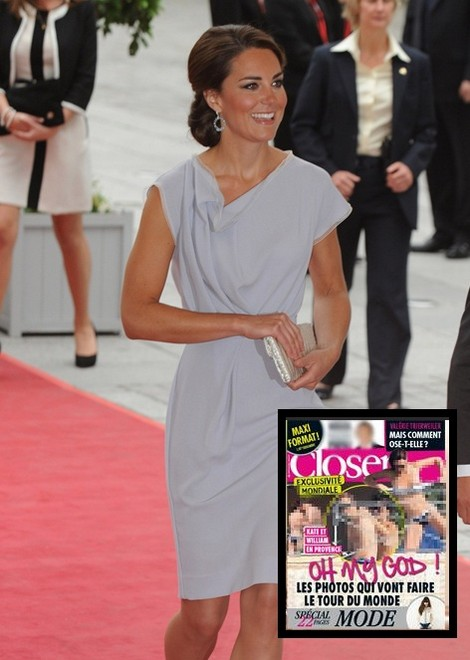 Topless Kate Middleton Exposed In French Tabloid Scandal (Photo) 0913