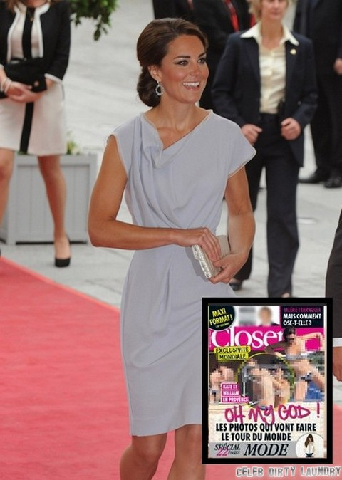 Kate Middleton Bikini Baby Bump Scandal - Camilla Parker-Bowles Laughs! (Photos)