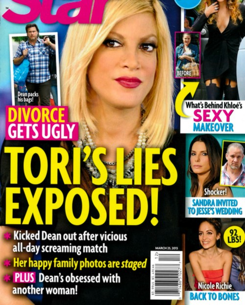 Tori Spelling's Divorce Worsens: Her Lies Exposed! (Photo)
