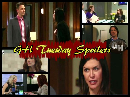 General Hospital Spoilers: Nelle Lies For Nanny Job - Anna Gives Valentin Ultimatum - Carly Gets Drunk, Second Thoughts On Nelle