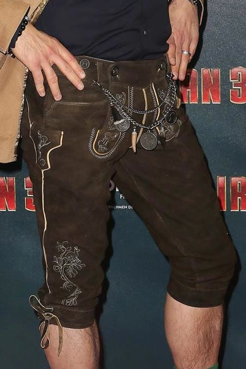 Robert Downey Jr. at Bavarian Premiere of Iron Man 3—Blending In or Offensive?