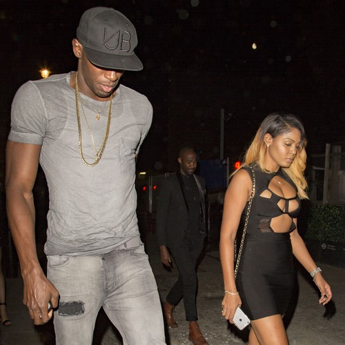 Usain Bolt Partying With Mystery Woman At Tape Night Club In London: Cheating on Girlfriend Kasi Bennet