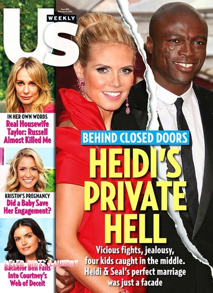 Behind Closed Doors: Heidi Klum's Private Hell With Seal (Photo)