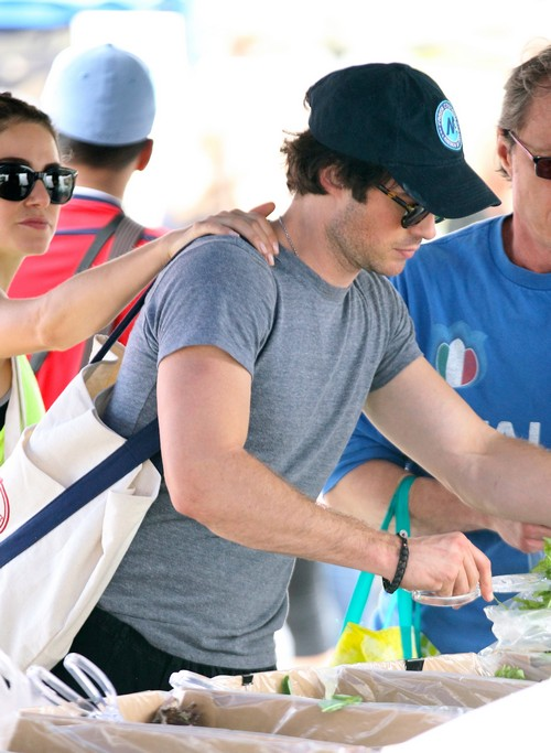 The Vampire Diaries Season 6 Spoilers: Will Ian Somerhalder Get Fired For Dating Nikki Reed - Nina Dobrev Making Trouble?