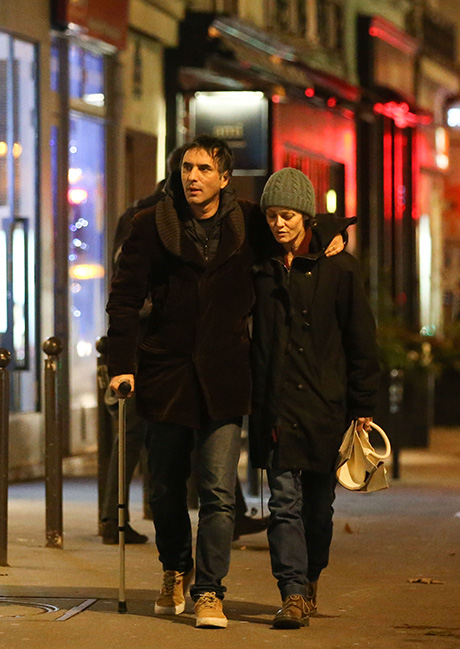 Vanessa Paradis & Samuel Benchetrit Shopping In Paris ...