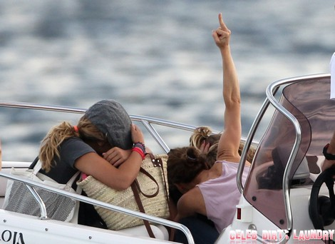 Vanessa Paradis Flees Johnny Depp With Lily-Rose And Jack (Photos)