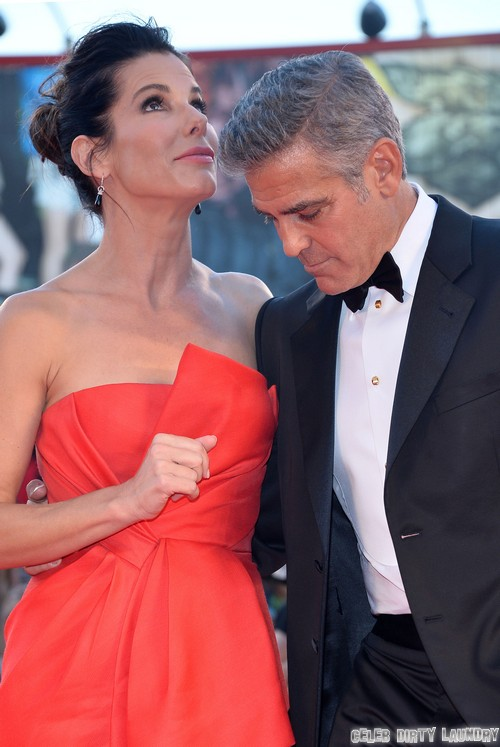 Venice Film Festival Photos - Gravity Gets Rave Reviews, Sandra Bullock and George Clooney Flirt and Lindsay Lohan Is A No Show