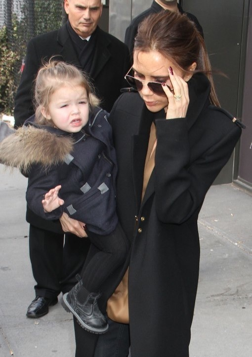 Victoria Beckham Shops With Harper After Debuting Fall Fashion Collection