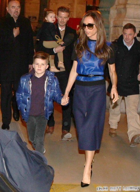 Victoria Beckham Baby Bump Spying – Wants Another Daughter (Photos)