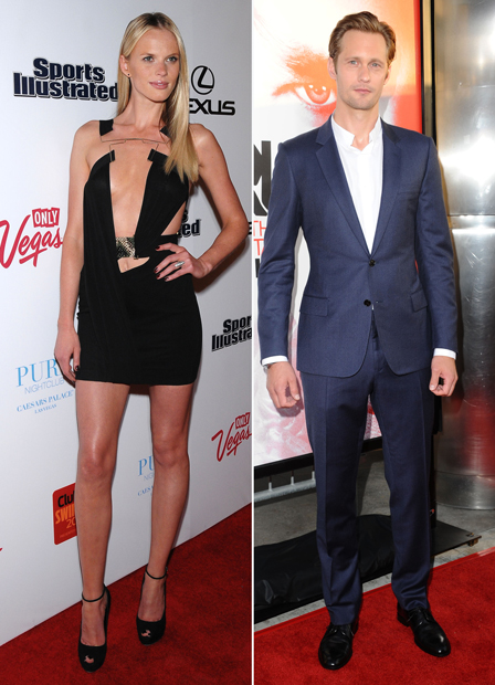 New Couple Alert: Alexander Skarsgard and Victoria's Secret Model Anne Vyalitsyna