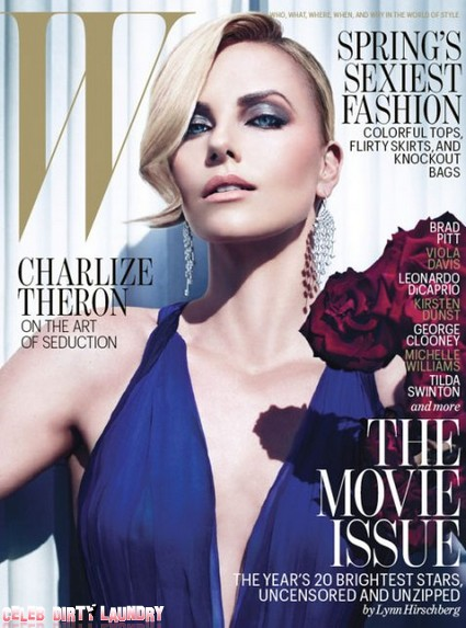 Charlize Theron Has No Boobs And No Front Teeth