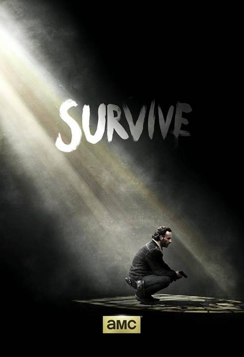The Walking Dead Season 5 New Promo Poster Released: Need To Survive Lingers Above Rick's Head More Than Ever (PHOTO)