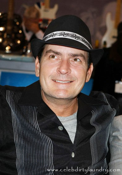 Charlie Sheen Tells Lindsay Lohan Work On Impulse Control