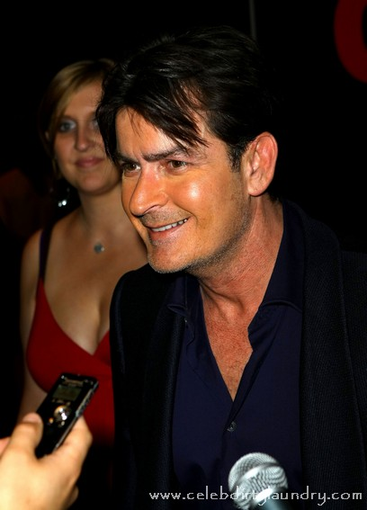 Charlie Sheen Plays Baseball Rehab