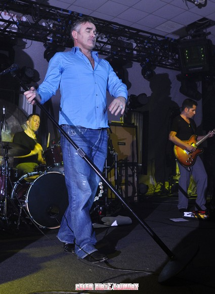 Morrissey Continues His Anti-Royal Rant