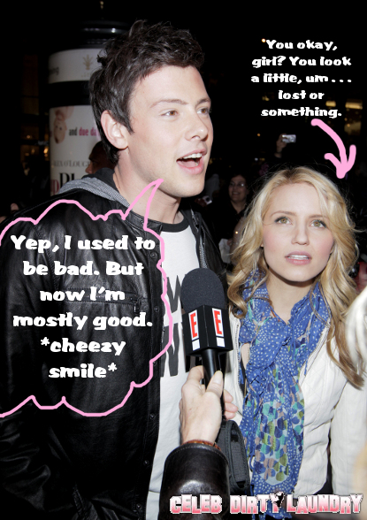 Cory Monteith Had A Crippling Drug Problem Before GLEE