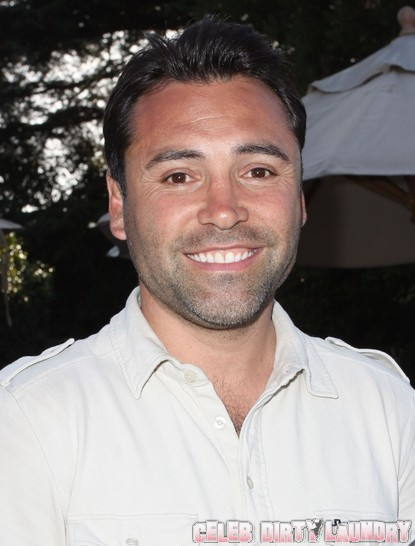 Oscar De La Hoya Checks Into Rehab!