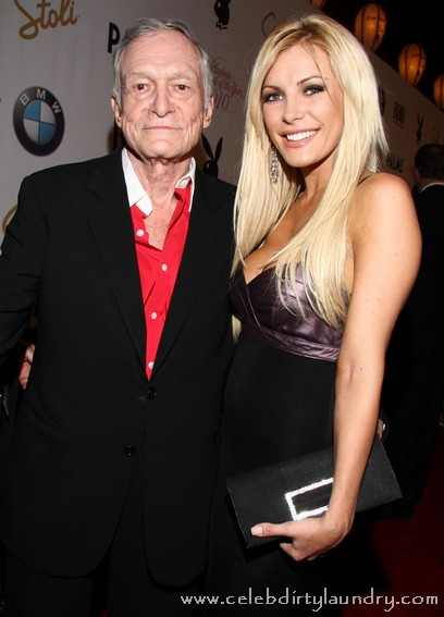 Hugh Hefner's Fiancee Crystal Harris To Punish Us With Music Release