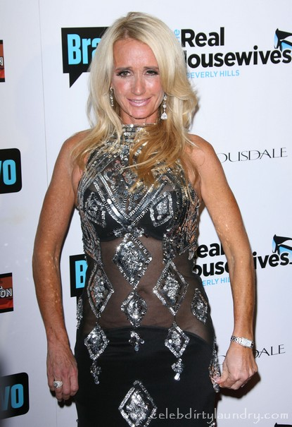 Real Housewives Of Beverly Hills' Kim Richards Wasted At Airport