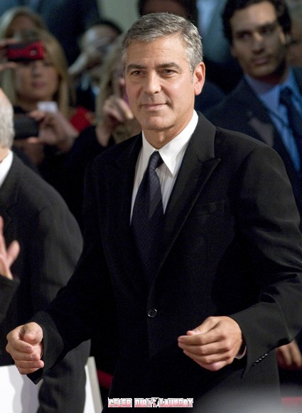 George Clooney Get Dirty Campaigning For Award Recognition